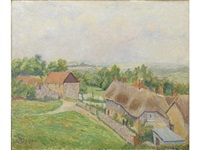 phippens cottage, hewood green by lucien pissarro