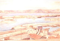 puerto mediterráneo by joseph mompou