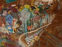 affluence dans le métro by farid aouad