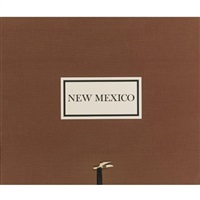 new mexico (portfolio of 8 w/title, plate list & colophon) by william clift