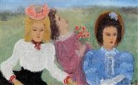 trois femmes, partie de campagne by alice frey