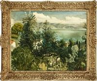 view from portofino by john spencer churchill