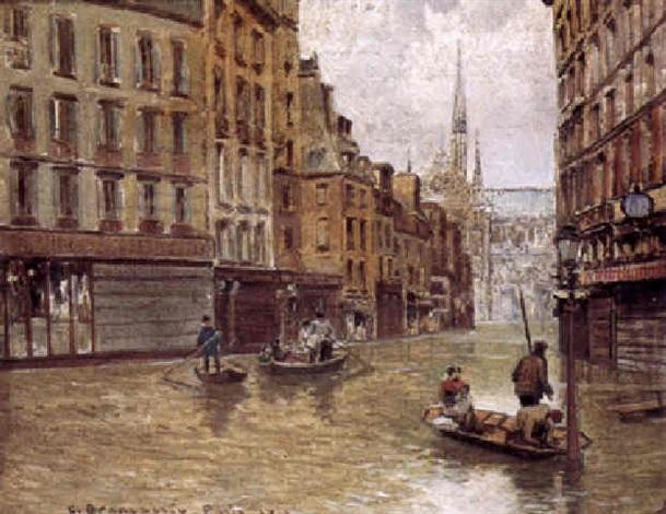 the great flood paris by carlo brancaccio on artnet