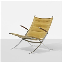 lounge chair, model fk 82 by preben fabricius and jørgen kastholm