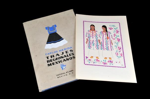Trajes Regionales Mexicanos Portfolio Of 25 By Carlos Mérida