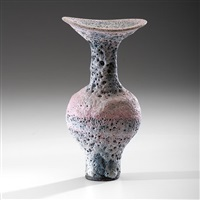 flared rim bottle by lucie rie