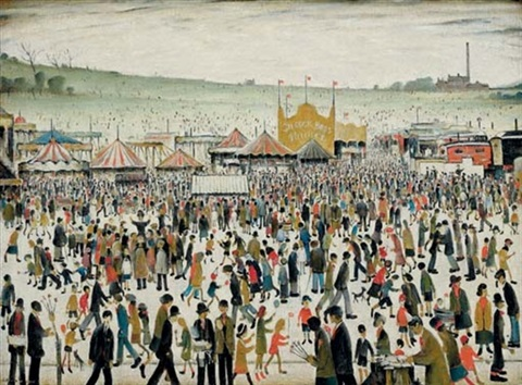 good friday daisy nook by laurence stephen lowry