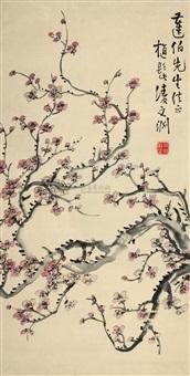 梅花 (plum) by ling wenyuan