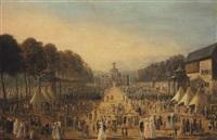 l'arrivée de marie-clotilde de bourbon, princesse de france, à pont-de-beauvoisin, le 7 septembre 1775 by michel barthelemy olivier