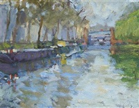 regents canal, little venice by bo hilton
