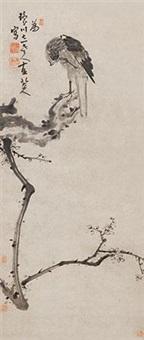 苍鹰 by bada shanren