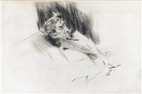 whistler asleep by giovanni boldini