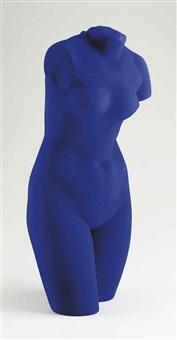 la vénus d' alexandrie (vénus bleue) by yves klein