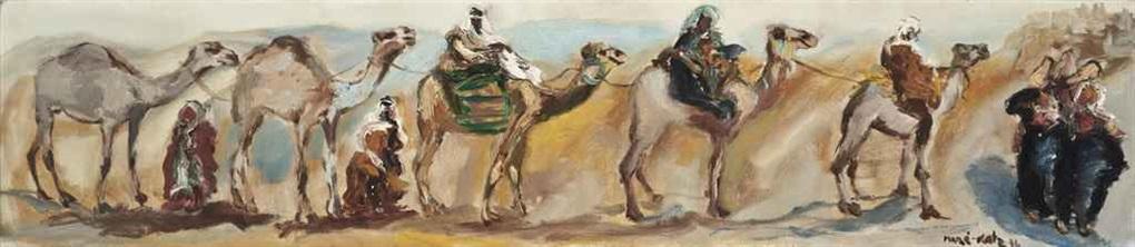 the merchants caravan by mané katz