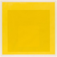 midnight + noon viii by josef albers
