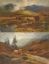 aurochs paissant (2 works) by douglas cameron