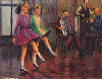 irish dancers by james mcdonald