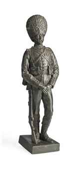 figure of a grenadier guardsman by george edward wade