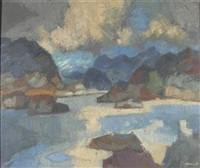 sea loch by denis frederic neal peploe