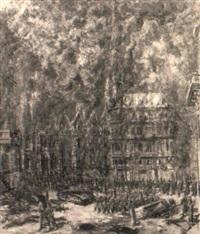 brand des stephansdoms by johannes laurer