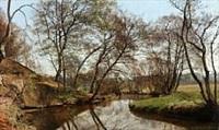 skovmølleaaen ved moesgaard by janus andreas barthotin la cour