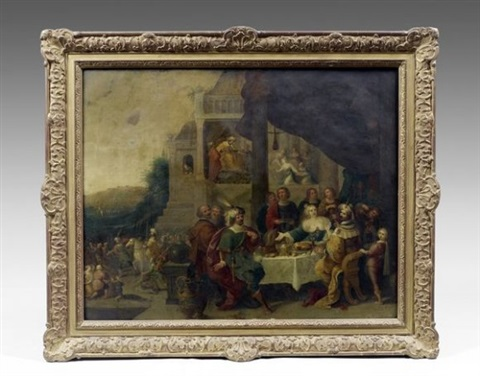 le banquet desther et assuérus by hieronymus francken iii