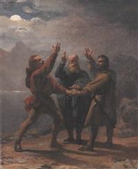 le serment du grütli by jean-léonard lugardon