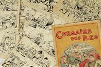 corsaire des îles (12 works) by etienne le rallic