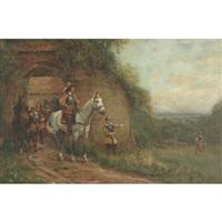 the dispatch rider by john sanderson-wells