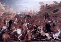 hannibal engaging the romans by marzio di colantonio ganassini