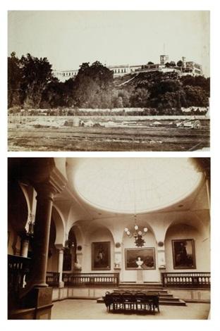 le château de chapultepec salle des séances de lempereur maximilien smllr 2 works by francois aubert