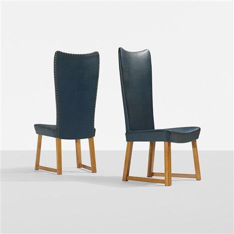 chairs (pair) by axel einar hjorth