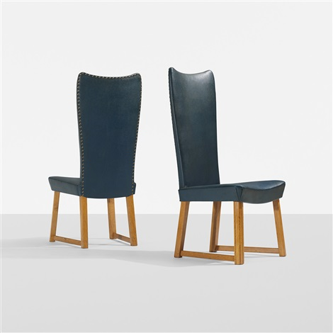 chairs pair by axel einar hjorth
