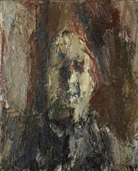 sans titre (autoportrait) by eugène leroy