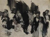 monte carlo casino scene by walt louderback