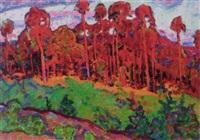 the forest by yuri sergeyevich kolosovski