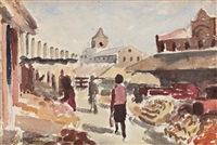 byward market, ottawa by william goodridge roberts