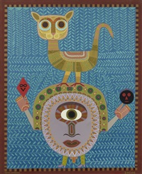 temps sombrero by victor brauner