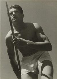 le champion de ski emile allais, megève by pierre boucher