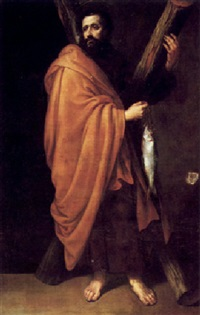 saint andrew by sebastian de llanos valdes