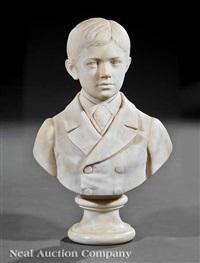 bust of an australian schoolboy by giovanni giuseppe fontana