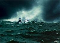 wzburzone morze by alain quemper