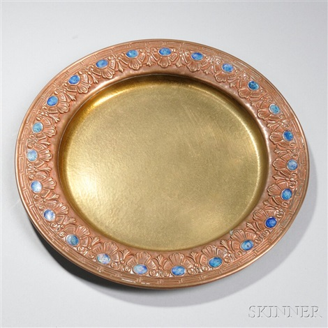 furnaces dish by louis comfort tiffany