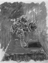 vase mit anemonen by johannes laurer