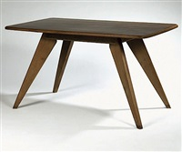 table de présentation pour daum à nancy by jean prouve and pierre jeanneret