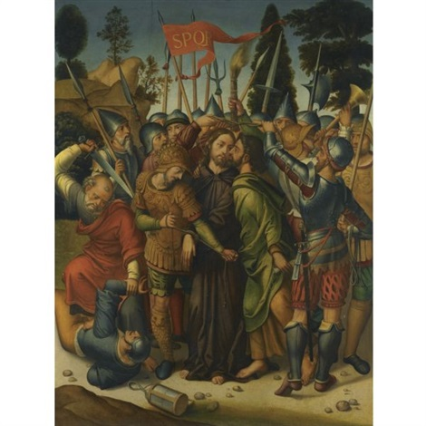 the taking of christ by juan correa de vivar