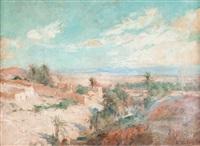 paysage orientaliste by edouard verschaffelt
