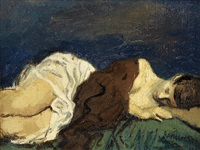 sleeping woman by raphael soyer