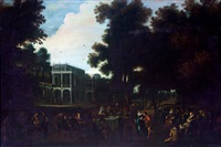 fiesta campestre con arquitecturas by flemish school (19)