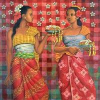 bunga kamboja (prangipani) by sodick ardhani